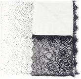 Magaschoni floral lace scarf