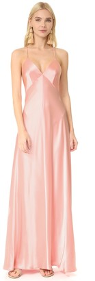 Jill Stuart Jill Women's Long Satin Gown