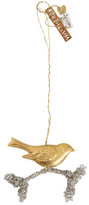 Walther & Co Gold Hanging Bird On Brand 3.5cm