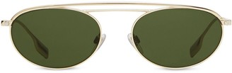 Burberry Oval Sunglasses