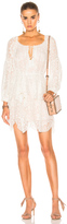 Zimmermann Gossamer Scallop Mini Dress