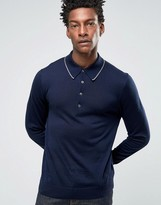Paul Smith PS by Sweater With All Over PS In Navy
