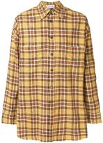 Faith Connexion oversized check shirt