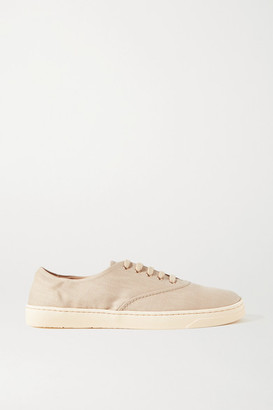 Gabriela Hearst Marcello Linen Sneakers - Tan
