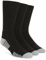 Under Armour Men's Heatgear 3-Pack Crew Socks