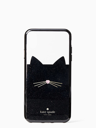 Kate Spade Jeweled Glitter Cat Iphone Xs Max Case