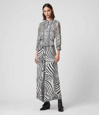 AllSaints Milia Seebra Dress
