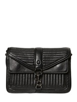 Rebecca Minkoff Mini Hudson Moto Leather Shoulder Bag
