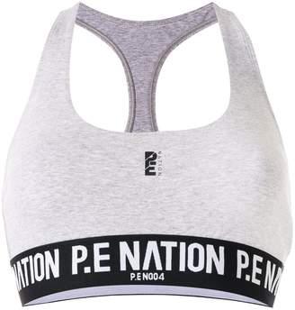 P.E Nation Free Formation sports bra
