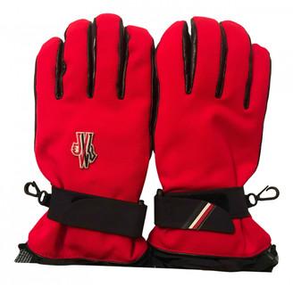 Moncler Red Polyester Gloves