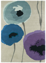 Sanderson Poppies Indigo/Purple Rug