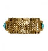 Mela Artisans Cleopatra In Turquoise/Gold Bracelet