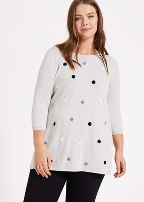 Phase Eight Sally Spot Knit Jumper