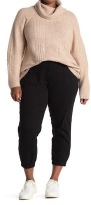 Rachel Roy Army High Rise Crop Military Pants (Plus Size)