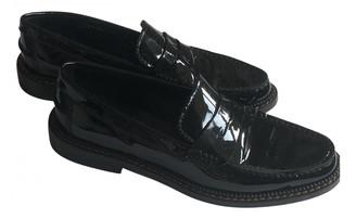 Dolce & Gabbana Black Leather Mules & Clogs