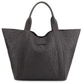 Brunello Cucinelli Reversible Leather/Felt Tote Bag