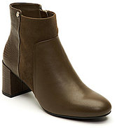 Taryn Rose Camille Lizard Embossed Booties