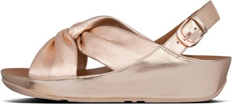 FitFlop Twiss Leather Back-Strap Sandals