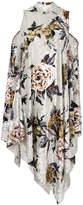 MM6 MAISON MARGIELA floral embroidered shift dress
