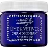 Captain Blankenship Lime & Vetiver Cream Deodorant