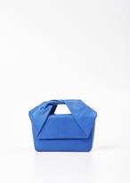 J.W.Anderson blue twist bag w/ chain