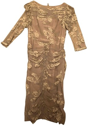 Burberry Beige Lace Dresses