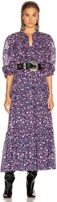 Etoile Isabel Marant Likoya Dress in Midnight | FWRD
