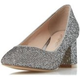 Dorothy Perkins Womens *Head Over Heels By Dune 'Agnitha' Pewter Mid Heel Shoes- Pewter