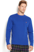 Polo Ralph Lauren Men's Solid Tipped Thermal Crew-Neck Top