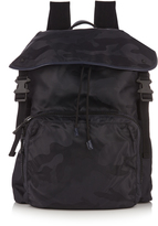 Valentino Camouflage-print nylon backpack