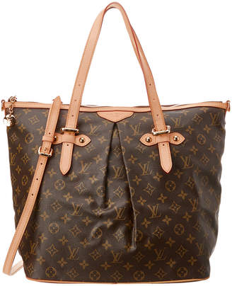Louis Vuitton Monogram Canvas Palermo Gm