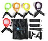Men's Health Resistance Band Tube Set - 5 Pack