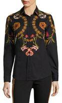 Etro Floral Button-Front Shirt