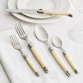 Sur La Table Dubost Ivory Laguiole Flatware, 5-Piece Set