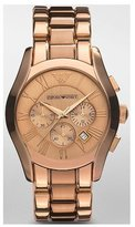 Giorgio Armani Classic Chronograph Rose-Gold Men's watch #AR0365