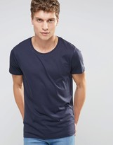 Selected Crew Neck T-Shirt In Pima Cotton