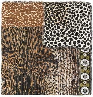 Pierre Louis Mascia Pierre-Louis Mascia animal-print silk scarf