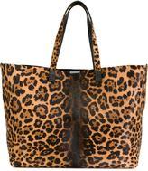 Victoria Beckham leopard print tote