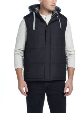 Weatherproof Vintage Men's Hooded Puffer Vest