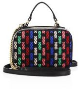 Milly Mini Multicolor Tweed Satchel