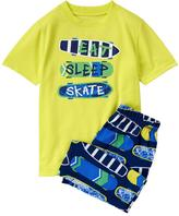 Gymboree Skate Short 2-Piece Sleep Set