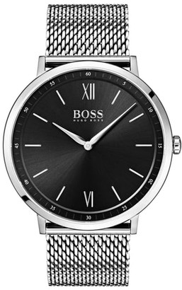 BOSS Essential Ultra Slim Bracelet Watch, 40mm