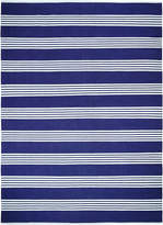 Serena & Lily Reade Stripe Dhurrie Hand-Woven Rug