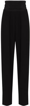 Magda Butrym Tuxedo-Style High-Waist Trousers