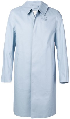 MACKINTOSH Bonded Cotton Three-Quarter Coat