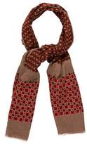 Marc Jacobs Woven Printed Scarf