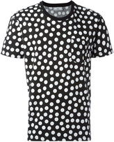Ami Alexandre Mattiussi Dot Print T-shirt - men - Cotton - XS