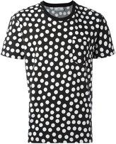 Ami Alexandre Mattiussi dot print T-shirt