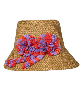 Eric Javits Happy Woven Bucket Hat