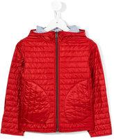 Herno Kids - zipped padded jacket - kids - Polyester/Polyamide - 4 yrs